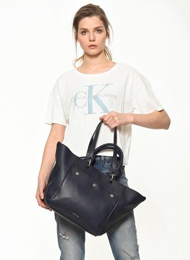 Calvin Klein Omuz Çantası Lacivert